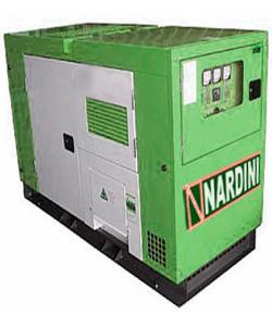 Gerador 150 KVA Diesel Trifásico Silenciado Nardini com QTA