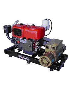Gerador 15KVA C/ QTA a Diesel