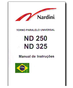 Manual de Torno ND250 ND325 - Português